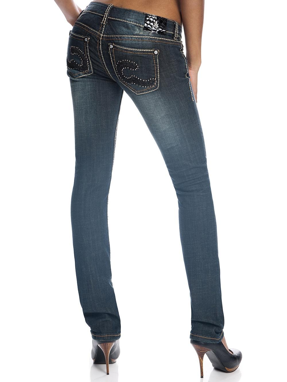 Rivet Damen Studded Charlotte 4816 Jeans Antique W2EeDHYI9