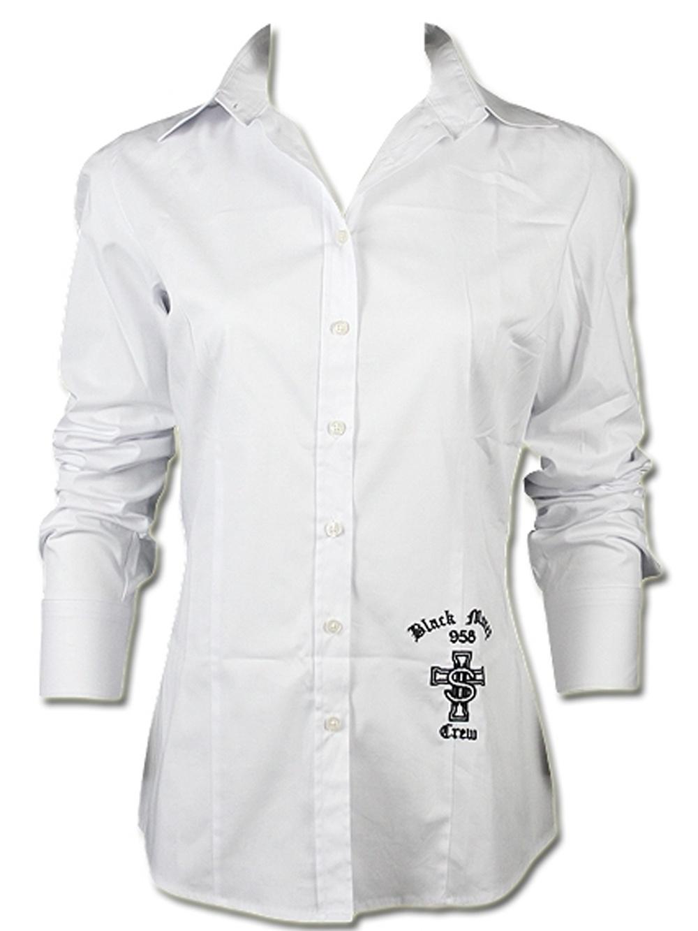 077c322abb Black Money Crew Damen Bluse Logo - Black Money Crew 3902 - Blusen ...