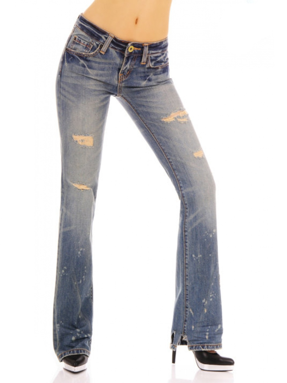 christian audigier damen strass jeans christian audigier. Black Bedroom Furniture Sets. Home Design Ideas