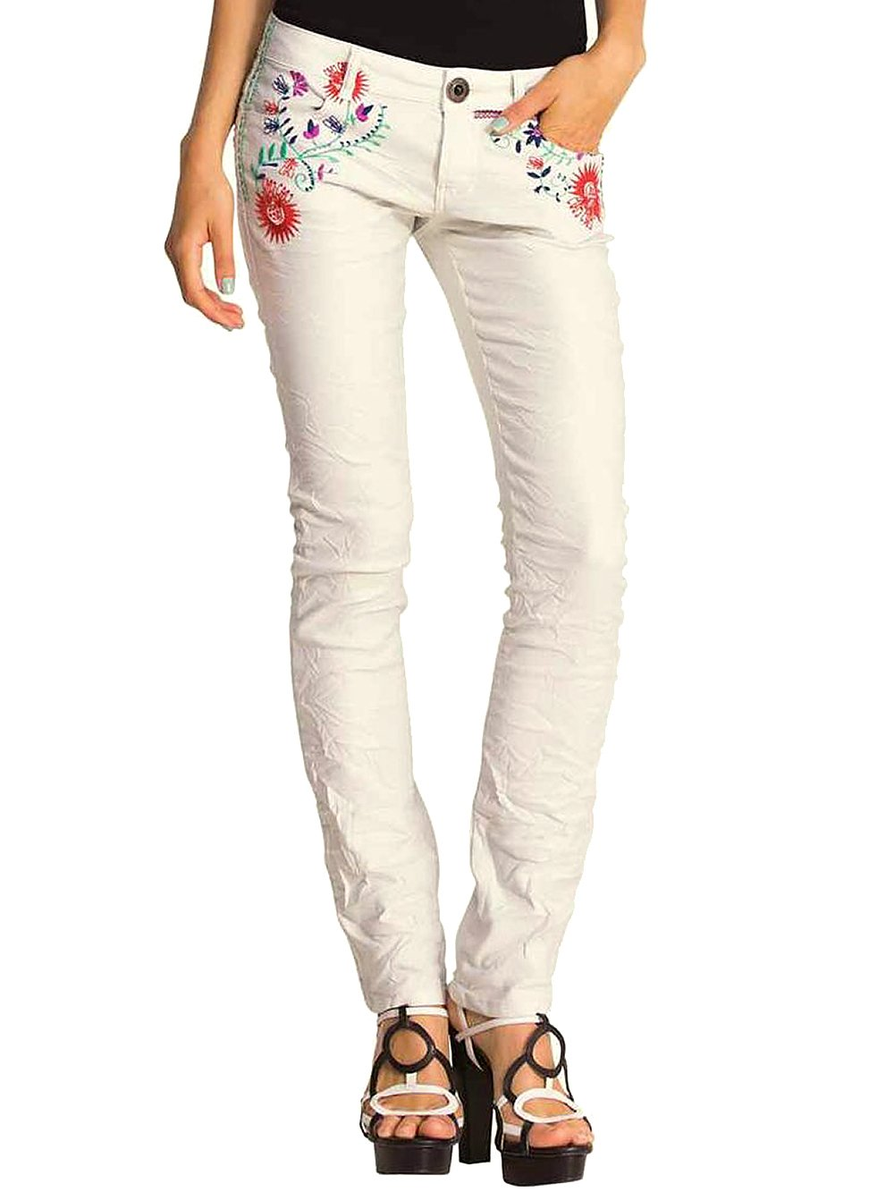 d1e1b5ac9311fa Damen Hose Elsa (weiß) - Desigual 11944 - Hose günstig online kaufen ...