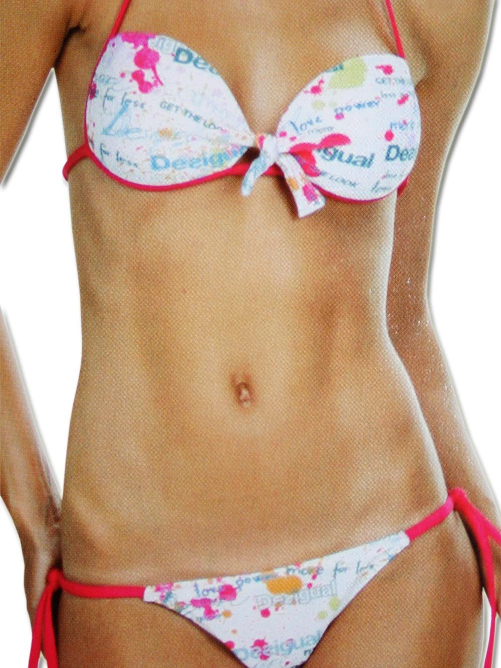 desigual damen bikini manchas desigual 4426 bikinis g nstig online kaufen 59 99. Black Bedroom Furniture Sets. Home Design Ideas
