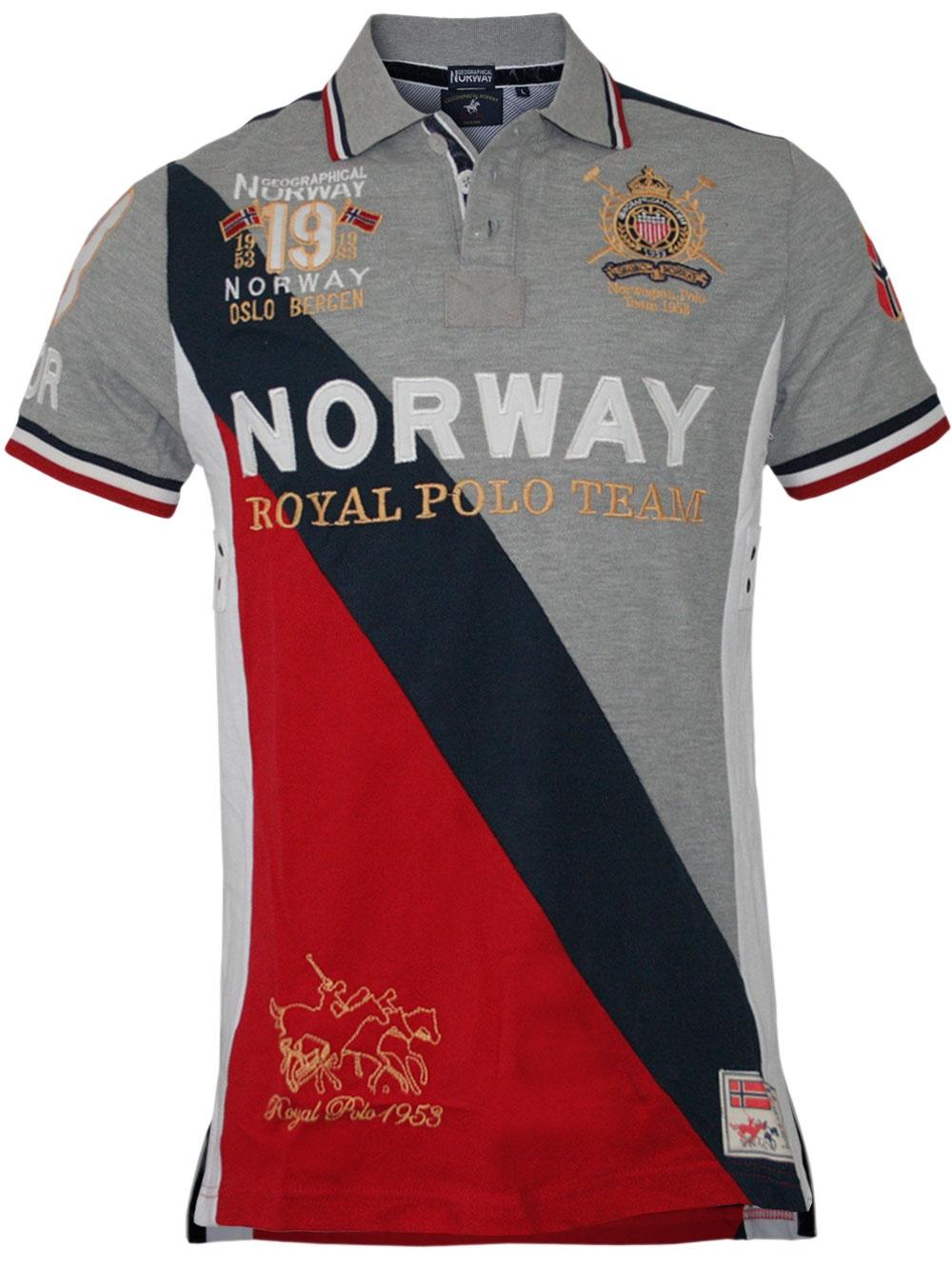 8c2602efd49cc0 Herren Polo Korway (grau) - Geographical Norway 10839 - Polo günstig ...