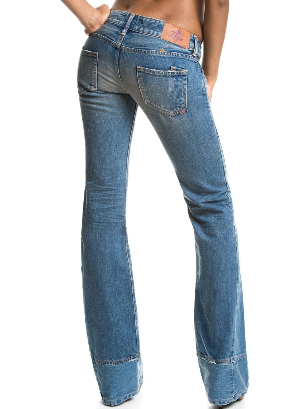 prps damen bootcut jeans medium washed prps 2317 jeans g nstig online kaufen 199 99. Black Bedroom Furniture Sets. Home Design Ideas