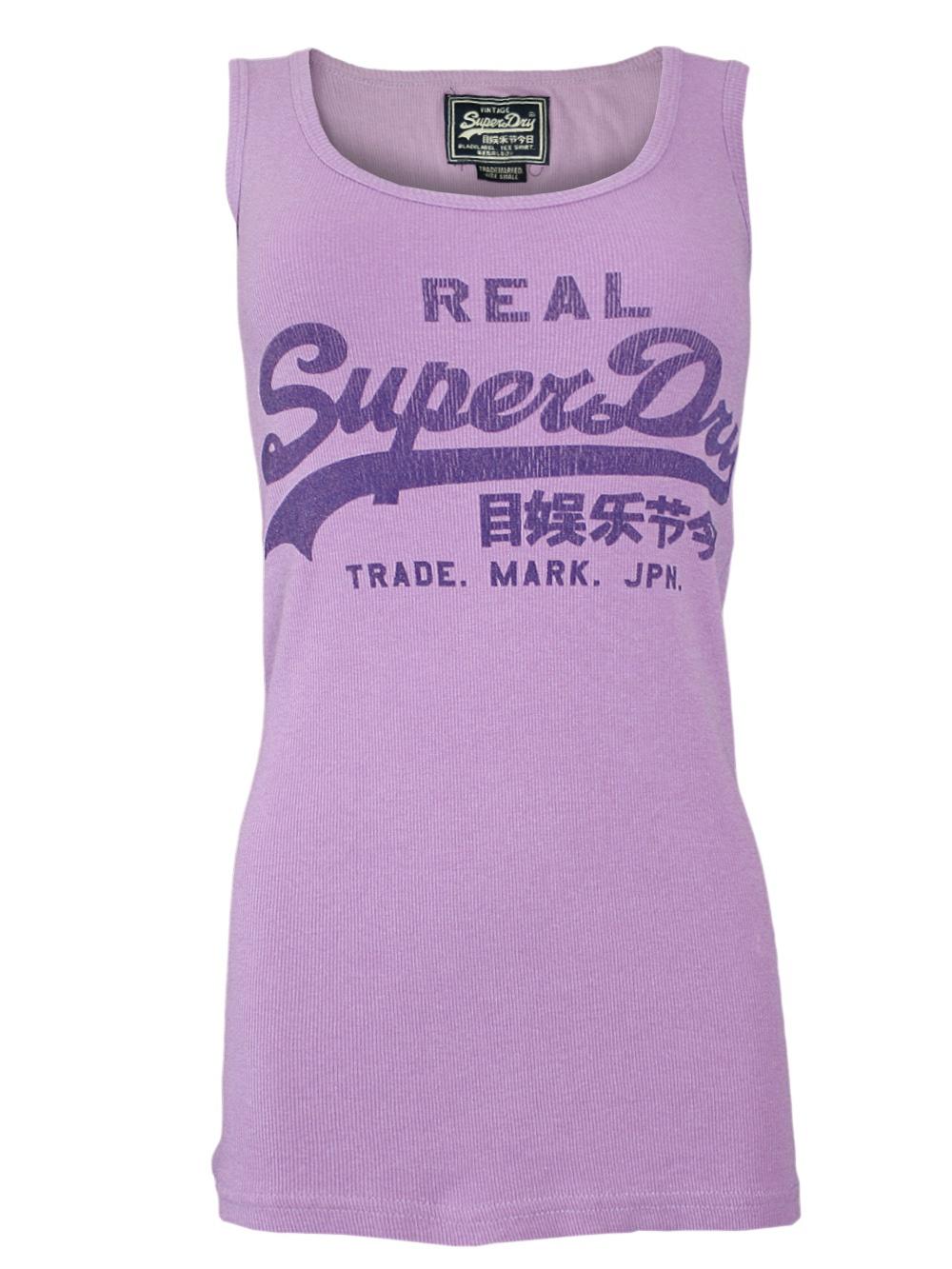 online retailer 57ea2 a3672 Damen Tank Top Real Superdry