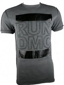 Amplified Herren Vintage Strass Shirt RUN DMC (M)