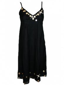 Schipkau Meuro Angebote C Bar A Damen Kleid Golden Coin (M)