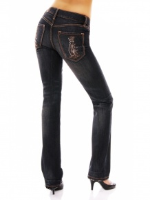 Christian Audigier Damen Strass Jeans (30)
