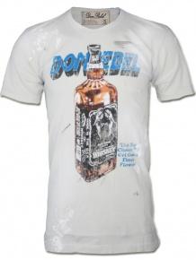 Graustein Angebote Dom Rebel Herren Shirt DR Whiskey (S)