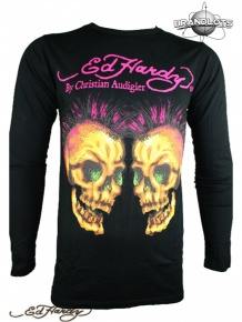 Ed Hardy Herren Langarm Shirt