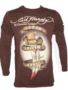 Ed Hardy Herren Langarm Shirt (S) Sale Angebote Lieskau