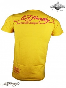Ed Hardy Herren Multiprint Shirt