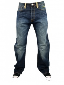 Neu-Seeland Angebote Ed Hardy Herren Vintage Strass Jeans RedSkull (36)