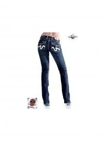 Laguna Beach Jeans Damen Straight