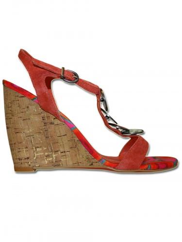 Damen Keilabsatz Schuh Darren
