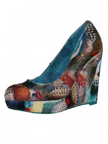 Damen Schuh Marylin blau