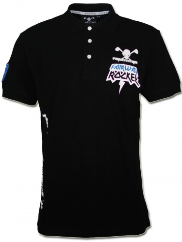 Herren Polo Shirt Rocker