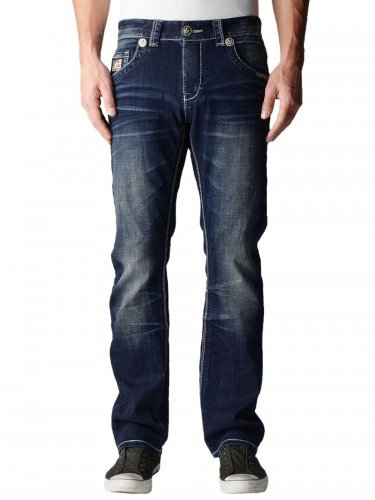 Herren Jeans Newport (38) (blau)