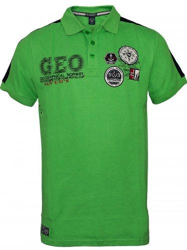 Herren Poloshirt Katal (M) (grün)