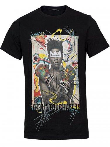 Herren Shirt Pop (XL) (schwarz)