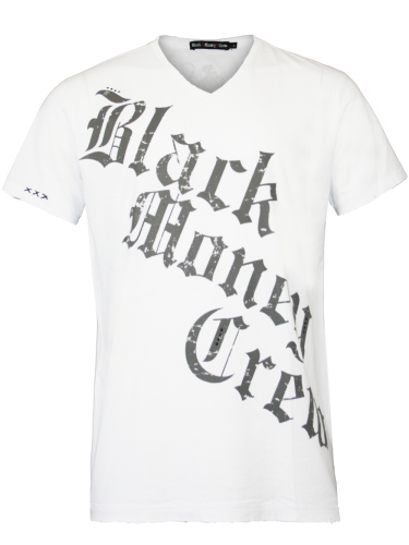 Herren Shirt Scream (S) (weiß)